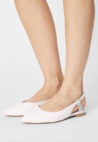 Zign - Slingback ballet pumps - white - 0