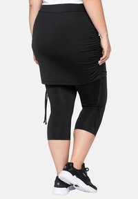 Sheego - Leggings - Trousers - black - 2