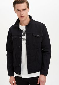 DeFacto - Denim jacket - black - 3