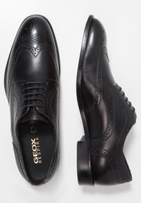 Geox - SAYMORE - Business sko - black - 1
