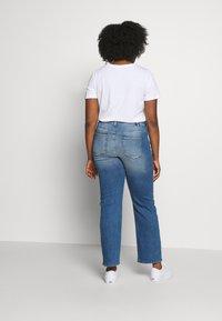 JUNAROSE - by VERO MODA - JRTENJUVA  - Jeans straight leg - medium blue denim - 2