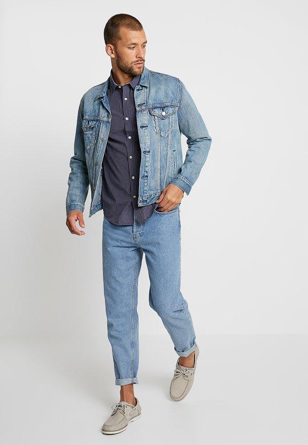 Pier One Koszula - dark blue/granatowy Odzież Męska KXZN