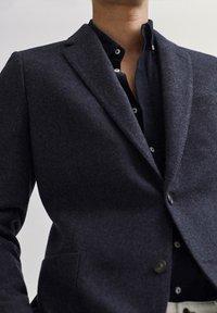 Massimo Dutti - SLIM-FIT - Blazer jacket - blue - 2