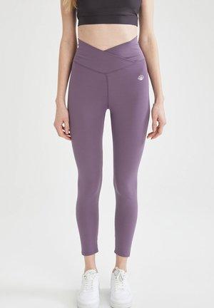 Leggingsit - purple
