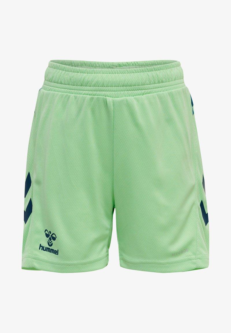 Hummel - ACTION  - Shorts - green ash/blue coral