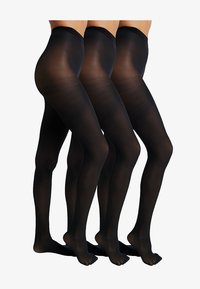 Anna Field - 30 DENIER 3 PACK - Tights - black - 1
