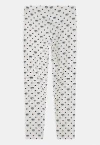 CHIARA FERRAGNI - ALL OVER - Leggings - Trousers - panna/rosa - 1