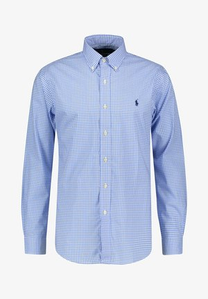 CUSTOM FIT - Shirt - bleu