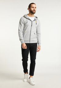 Schmuddelwedda - Zip-up hoodie - hellgrau melange - 1