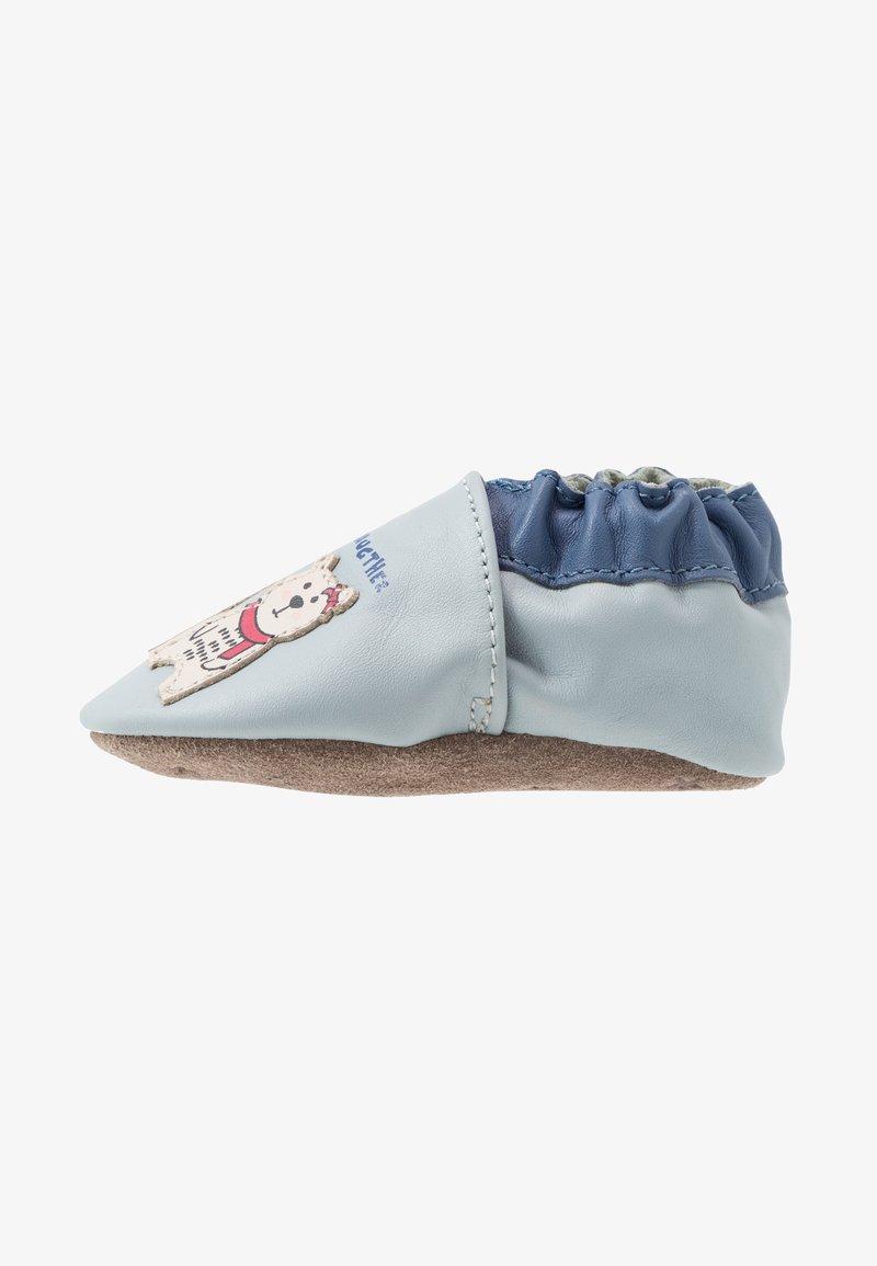 Robeez - BEARS FAMILY - First shoes - bleu/clair bleu