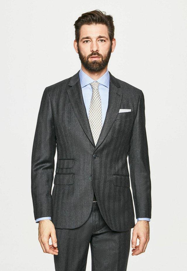 Pantalón de traje - dark grey