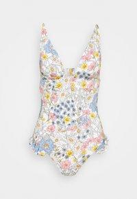 O'Neill - MARGOT SWIM SUIT - Swimsuit - white/green - 0