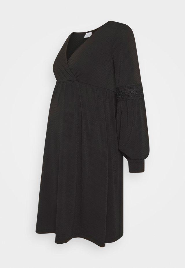 MLLUANDA TESS DRESS - Vestito di maglina - black