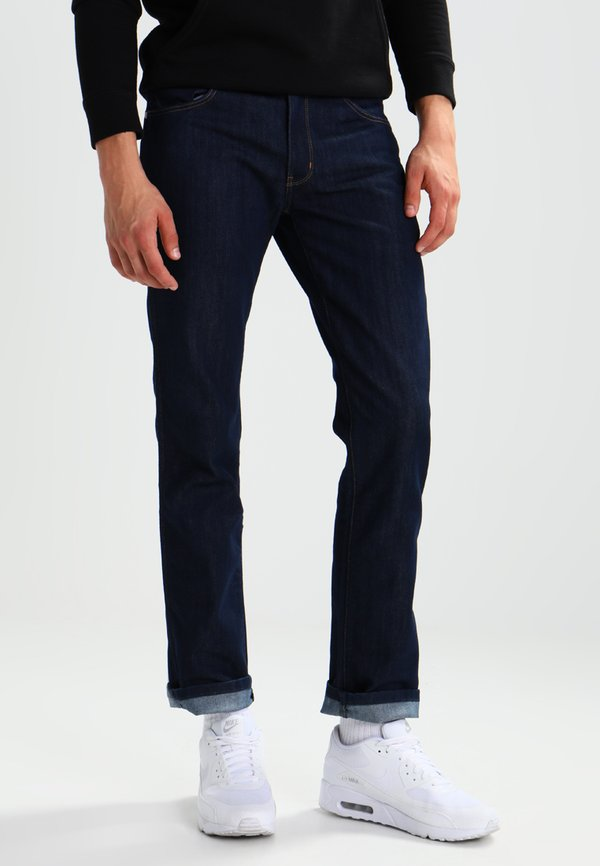 Wrangler GREENSBORO - Jeansy Straight Leg - ocean squall/ciemnoniebieski Odzież Męska AJQG