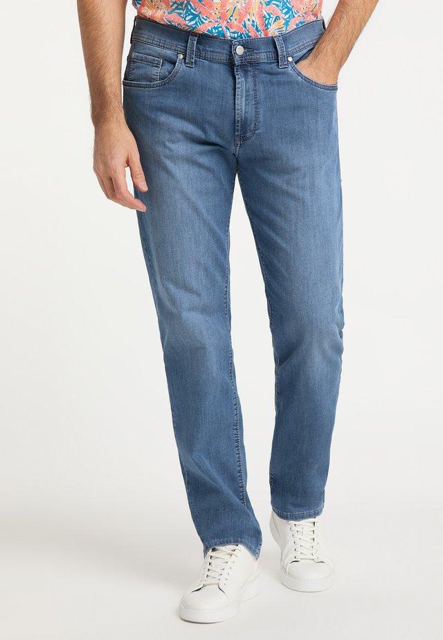 THOMAS - Straight leg jeans - stone used