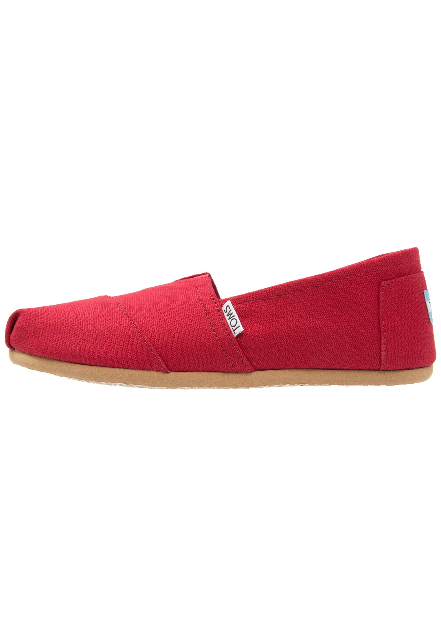 Women Slip-ons - red