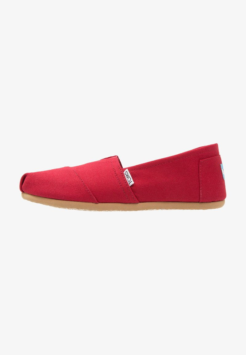 TOMS - Slip-ons - red