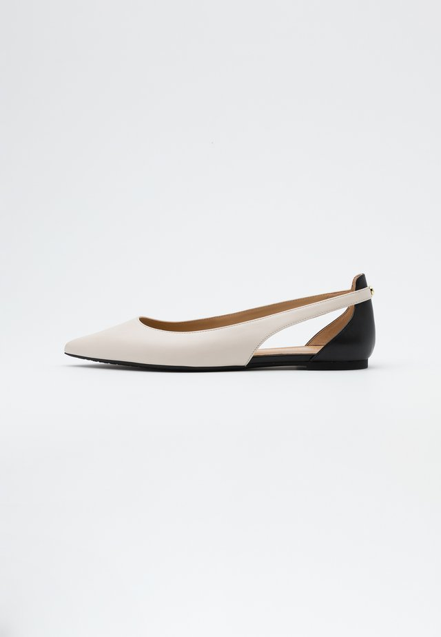 CERSEI FLEX FLAT - Ballerinasko - light cream