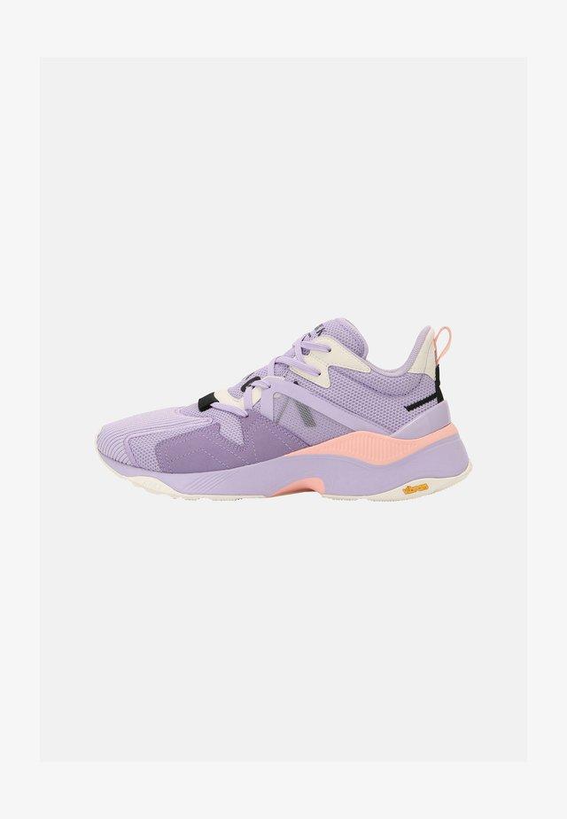 VIBRAM UNISEX - Matalavartiset tennarit - pastel lilac/peach
