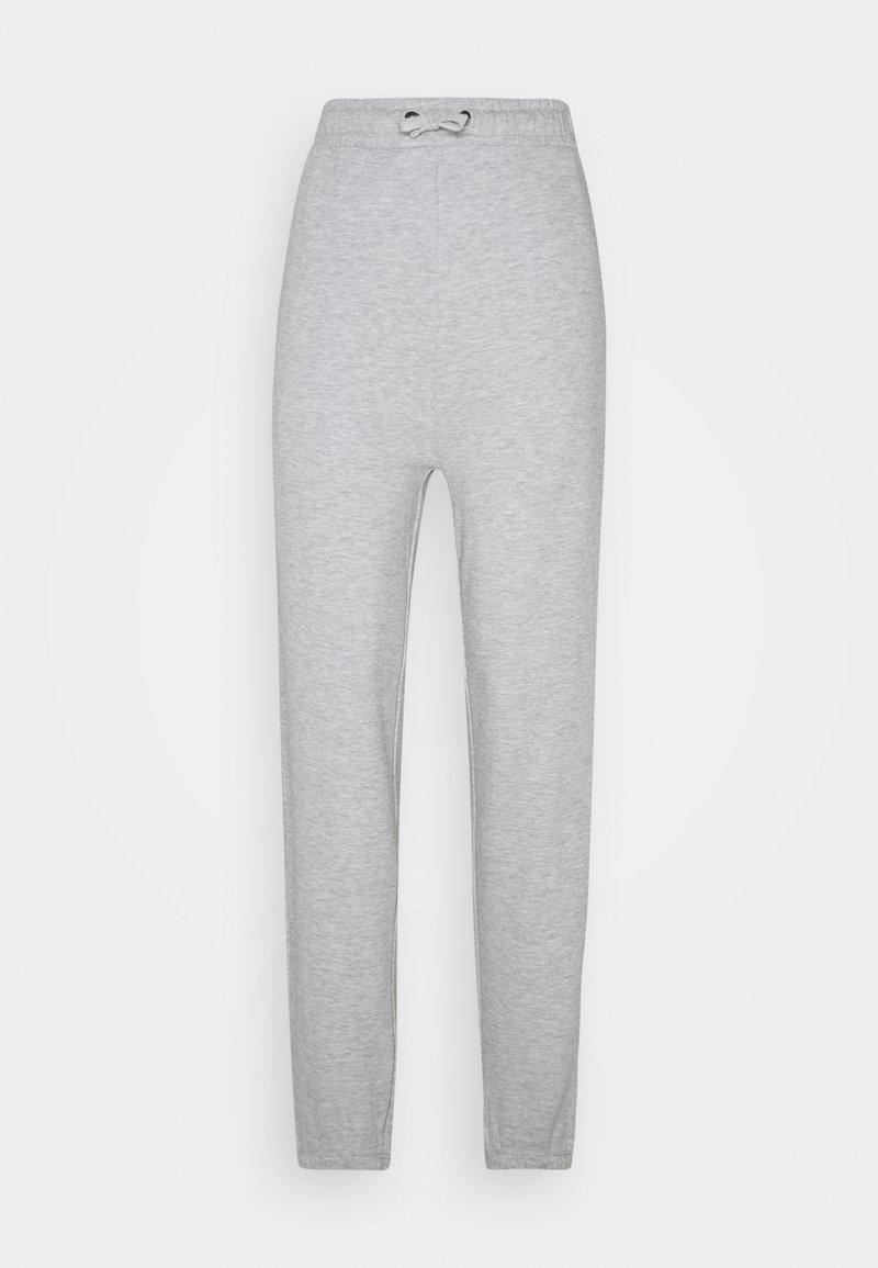 Even&Odd - HIGH WAISTED JOGGERS - Tracksuit bottoms - mottled light grey