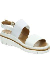 Marc - ROSA - Wedge sandals - weiß - 5