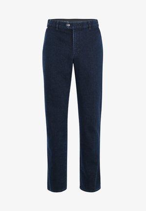 MODISCHE FLATFRONT PARMA MIT BEQUEMEM KOMFORTBUND - Straight leg jeans - dark blue