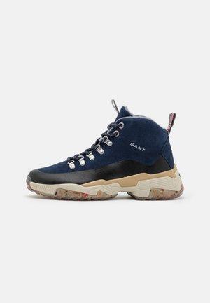 DANDRE - Sneakers hoog - marine/black