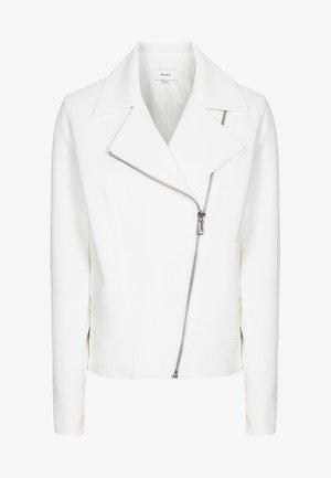 SABINE - Faux leather jacket - white