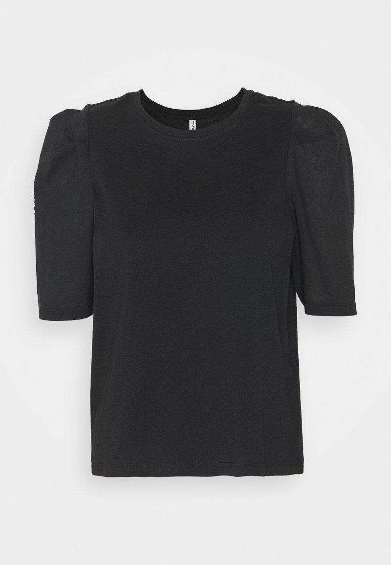 ONLY - ONLRASHA LIFE PUFF MIX - Basic T-shirt - black