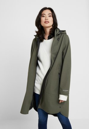 FUNCTIONAL RAINCOAT - Parkaer - army