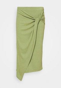 EDITED - BEKE SKIRT - Wrap skirt - oliv - 4
