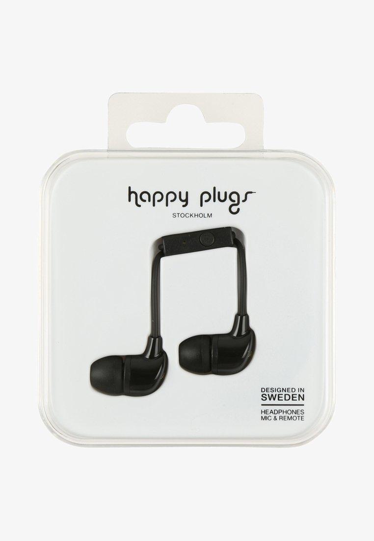 Happy Plugs - Headphones - black