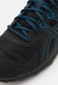 ASICS - SCOUT - Trail running shoes - black/reborn blue - 5