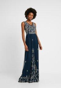 Lace & Beads Tall - SHANTI MAXI - Společenské šaty - navy - 1