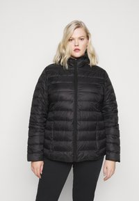 Even&Odd Curvy - Down jacket - black - 3