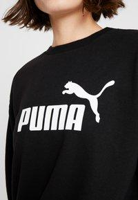 Puma - LOGO CREW  - Sudadera - black - 5