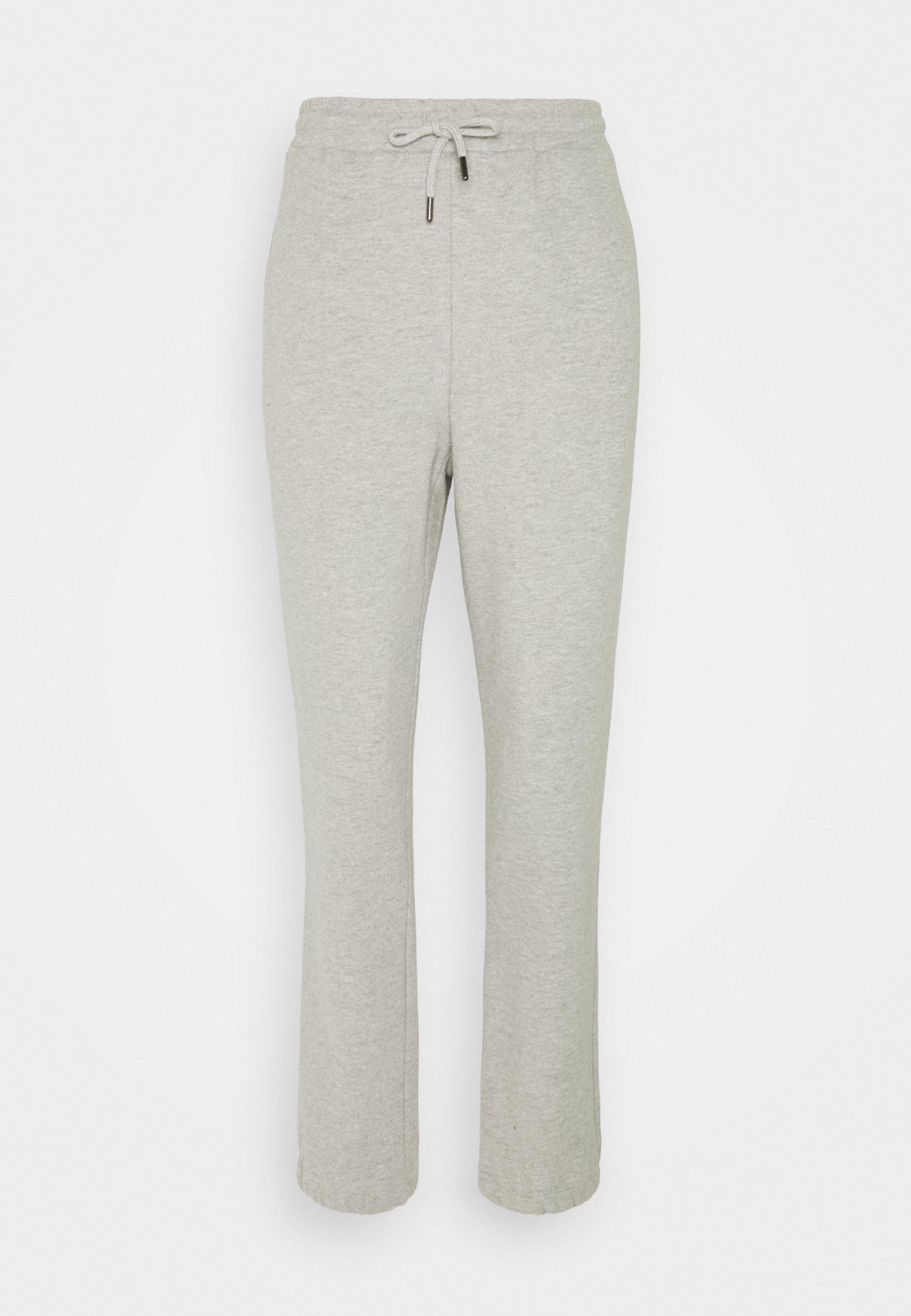 Women TERRY JOGG PANT - Tracksuit bottoms - light grey