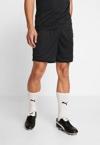 Under Armour - CHALLENGER SHORT - Korte sportsbukser - black/white - 0