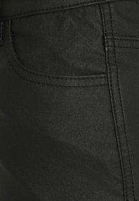 Missguided Petite - FRONT SPLIT MIDI SKIRT - Jupe crayon - black - 5