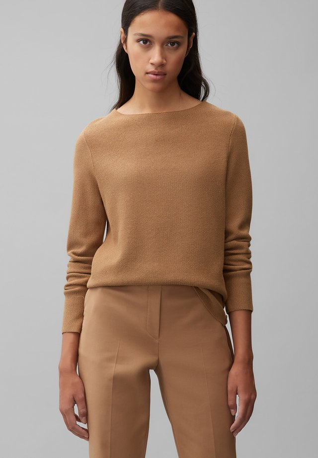 LONG SLEEVE - Sweter - true camel
