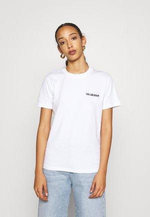CASUAL TEE SHORT SLEEVE - Basic T-shirt - white
