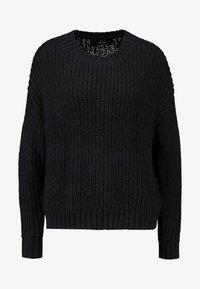 VMRUSH O-NECK - Pullover - black