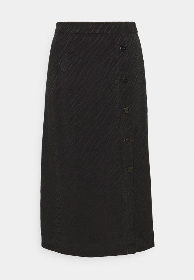 ELINA SKIRT - Maxi skirt - black