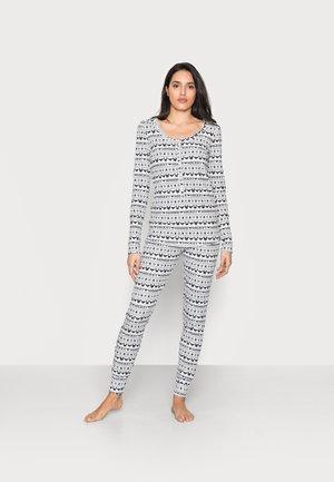 HENLEY LONG JOHN - Pyjama set - navy