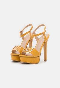 Laura Biagiotti - Platform sandals - mustard - 2