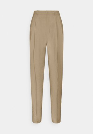 SANDRA STRAIGHt ELONGATED - Pantalones - beige