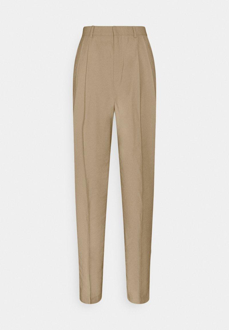 Lindex - SANDRA STRAIGHt ELONGATED - Trousers - beige
