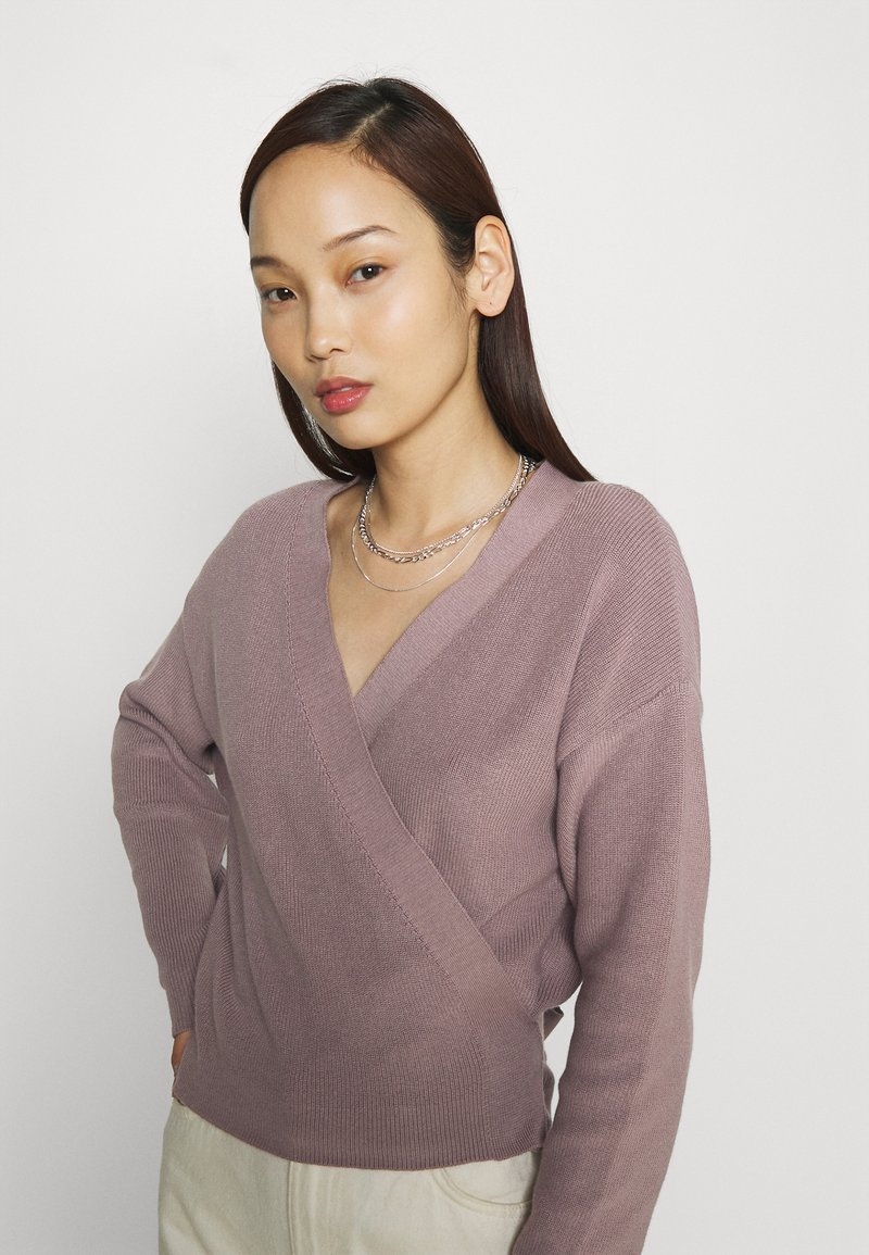 Even&Odd - Cardigan - purple