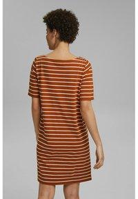 Esprit - FASHION  - Jersey dress - caramel - 2
