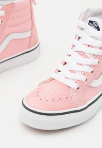 Vans - SK8 ZIP - High-top trainers - powder pink/true white - 5